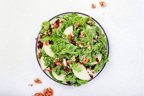 Kale and Cranberry Green Salad