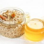 Mediterranean Oatmeal With Honey Tahini and Figs