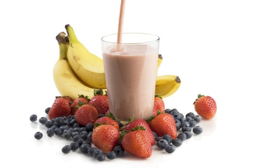 Easy Strawberry Blueberry Banana Smoothie Recipe