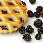 blackberries pie